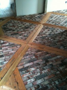 Awesome Brick Floor Vintage Brick Veneer Blog