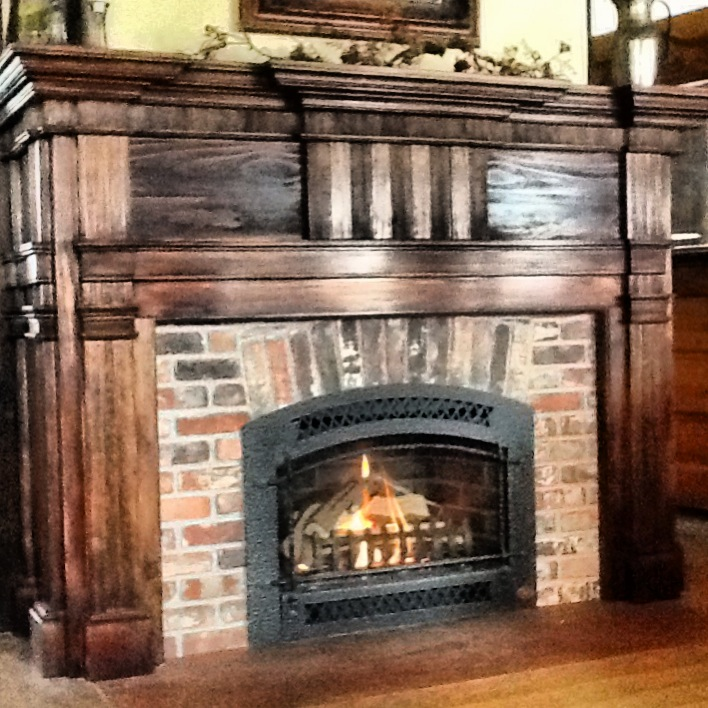 Strange Fireplaces Vintage Brick Veneer Blog Beutiful Home Inspiration Semekurdistantinfo