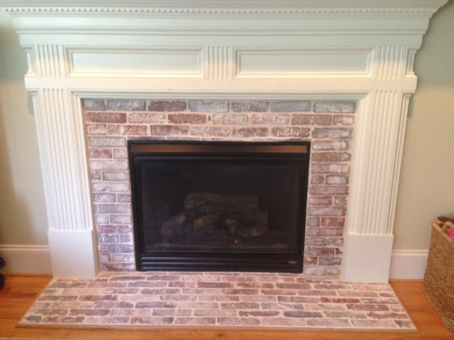 Admirable Fireplaces Vintage Brick Veneer Blog Beutiful Home Inspiration Semekurdistantinfo
